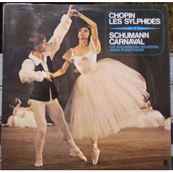 Chopin: Sylphiden. & Schumann: Carnaval. PO. Robert Irving. 1 LP. World Records