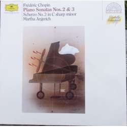 Chopin: Sonatas for piano nos. 2 & 3. Martha Argerich. 1 LP. DG. A brand new copy.