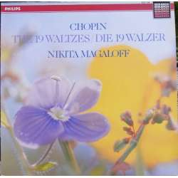Chopin: Waltzes. Nikita Magaloff. 1 LP. Philips. New Copy