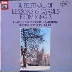 A Festival of Lessons and Carols from King's. Philip Ledger. 1 LP. EMI. ASD 3778. Nyt eksemplar