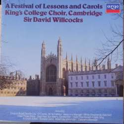 A Festival of Lessons and Carols. King's College Choir. Sir David Willcocks. 1 LP. Argo. Nyt eksemplar