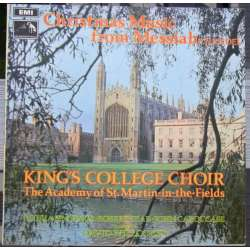 Christmas Music from Messiahs. David Willcocks, Harwood, Janet Baker. 1 LP. EMI. CSD 3669