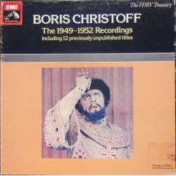 Boris Christoff: The 1949-1952 Recordings. RLS 735. 3 LP. EMI