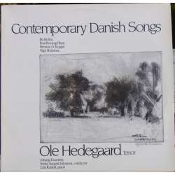 Contemporary Danish songs by Bo Holten, Rovsing Olsen. Ole Hedegaard. Esbjerg Ensemble. 1 LP. Paula LP 32