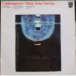 Contemporary music from Norway. Hovland, Mortensen, Nordheim. 1 LP. Philips