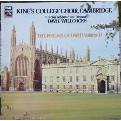 The Psalms of David. Vol. 2. Kings College Choir, David Willcocks. 1 LP EMI. CSD 3717. A brand new Copy