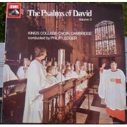 Davids salmer. Vol. 3. King's College Choir, Cambridge. David Willcocks. 1 LP. EMI. Nyt eksemplar