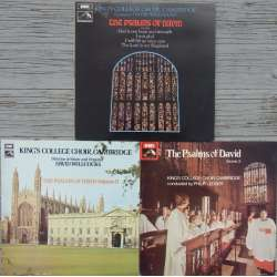 Davids salmer. Vol. 1 - 3. Kings College Choir, Cambridge, David Willcocks. 3 LP. EMI. Nye eksemplarer