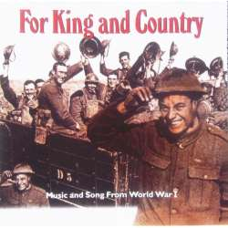 For King and Country. Music and songs from World War I. 1 CD. Hallmark