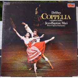 Delibes: Coppelia. Paris National Opera Orchestra. Jean Baptiste Mari. 2 LP. EMI. New Copy