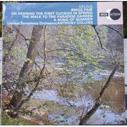 Delius: Brigg fair, On hearing the First Cuckoo. A. Collins. 1 LP. Decca