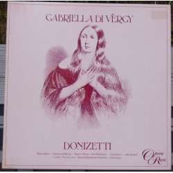 Donizetti: Gabriella di Vergy. Alun Francies. 3 LP. Opera Rara