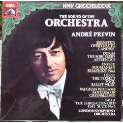 The Sound of the Orchestra with Andre Previn. 1 LP. EMI