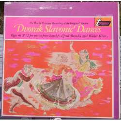 Antonin Dvorak: Slavonic dances for two pianos. Alfred Brendel, Walther Klien. 1 LP. Turnabout