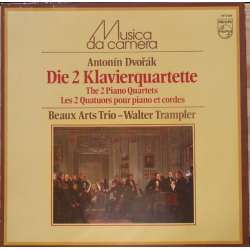Dvorak: The 2 piano quartets. Beaux Arts Trio - Walther Trampler. 1 LP Philips. A Brand new copy