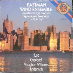 Eastman Wind Ensemble, Wynton Marsalis, & Donald Hunsberger. 1 LP. CBS 44916. New copy
