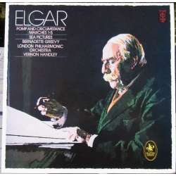 Elgar: Pomp and Circumstance. & Sea Pictures. Greevy, LPO. Vernon Handley. 1 LP. EMI. Nyt eksemplar