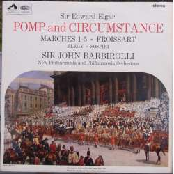 Elgar: Pomp and Circumstance. John Barbirolli, New PO. 1 LP. EMI. ASD 2292