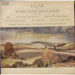 Elgar & Vaughan-Williams Rare Orchestral works. George Hurst, Bournemouth Sinfonietta. 1 LP Chandos CBR 1004