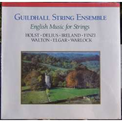English string music of Holst, Delius, Finzi. Guildhall string ensemble. 1 LP. RCA RL 87671. New copy
