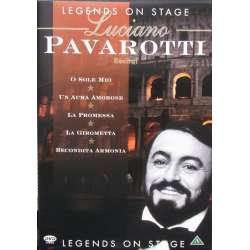 Pavarotti: Legends on Stage. Rossini, Mozart, Bellini. 23 arias. 1 DVD. MCPS