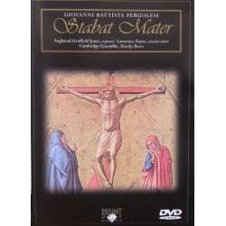 Pergolesi: Stabat Mater. Cambridge Ensemble. Timothy Brown. 1 DVD. Brilliant Classics