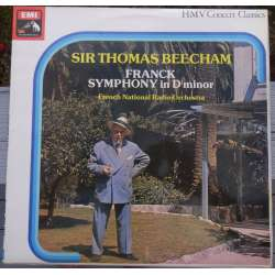 Franck: Symfoni i D-Moll. Thomas Beecham, French National SO. 1 LP. EMI