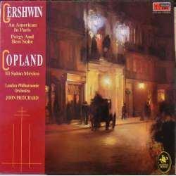 Gershwin: An American in Paris. & Copland: El Salon México. John Pritchard. 1 LP. EMI. New Copy