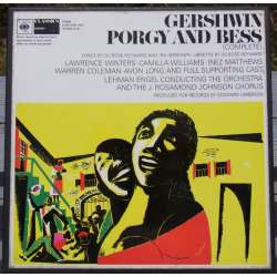 Gershwin: Porgy and Bess. Lehman Engel. 3 LP. CBS. 77319