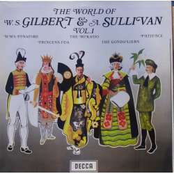 The World of Gilbert & Sullivan: H. M. S. Pinafore, Princess Ida, The Mikado. 1 LP. Decca. Nyt eksemplar