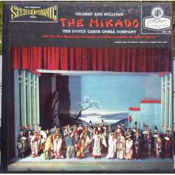 Gilbert & Sullivan: The Mikado. d'Odyle Ocarte Company. 2 LP. Decca / London