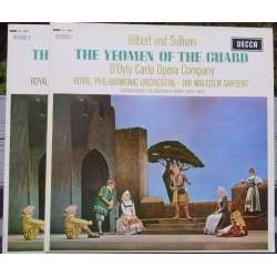 Gilbert & Sullivan: The Yeomen of the Guard. d'Odyle Ocarte Company. 2 LP. Decca