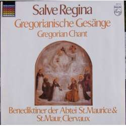 Salve Regina. Gregorian Chant. The Monks of St. Maur. 1 LP Philips A brand new copy