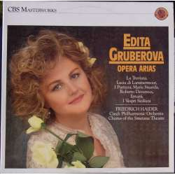Edita Gruberova sings opera arias by Verdi, Bellini, Donizetti. 1 LP, CBS. SK 45633-1 A brand new copy