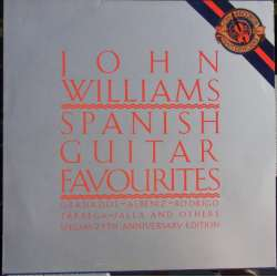 John Williams: Spanish guitar favorites. 1 LP. CBS 44794. Nyt eksemplar