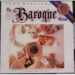 The Baroque guitar album. John Williams. 1 LP. CBS. 44518 Nyt eksemplar