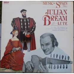 Music of Spain. Julian Bream: Lute. 1 LP. RCA