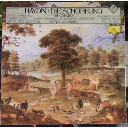 Joseph Haydn: The Creation. Janowitz, Wunderlich, Ludwig. Karajan. 2 LP. DGG (1969) A brand new copy.