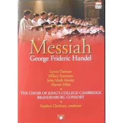 Handel: Messiah (complete) Stephen Cleobury. King's College Choir and Orchestra. Lyne Dawson, Hillery Summers. 1 DVD.