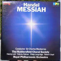 Handel: Messiah. Lott, Lloyd, Palmer. Charles Mackerras, Royal Philharmonic Orchestra. 2 LP-vinyl. RPD. A brand new copy.