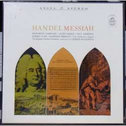 Handel: Messiah. Baker, Tear, Esswood. Charles Mackerras. 3 LP. Angel. Nyt eksemplar