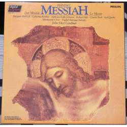 Handel: Messiah. John Eliot Gardiner. English Baroque Soloists, Monteverdi Choir 3 LP. Philips. New Copy