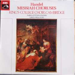 Handel: De store kor fra Messiah. David Willcocks, Kings college Choir. 1 LP. EMI CSD 3778 De store kor, fra Messiah. David Will