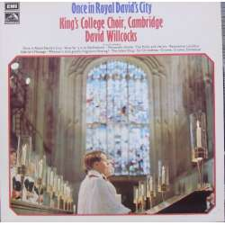 Once in Royal David's City. Choir of King's College. David Willcocks. 1 LP. EMI. Nyt eksemplar