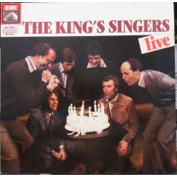King's Singers: 'Live at the Royal Festival Hall'. 2 LP. EMI