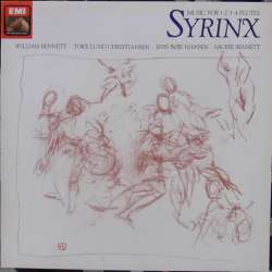 Syrinx. Works for 1, 2, 3 and 4 flutes by Kuhlau, Beethoven, Debussy. 1 LP. EMI. New Copy