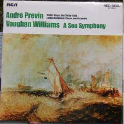 Vaughan Williams: Symfoni nr. 1. Andre Previn, London Symphony Orchestra. 1 LP. RCA