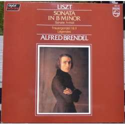 Liszt: Sonata in B-minor. & Legends. Alfred Brendel. 1 LP. Philips. New Copy