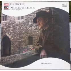 Vaughan Williams: Symphony no. 2. John Barbirolli, Hallé SO. 1 LP. EMI