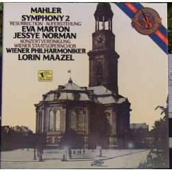 Mahler: Symphony no. 2. Norman, Marton, Maazel. 2 LP. CBS. New Copy